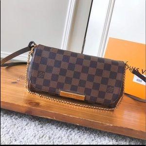 Crossbody lv pochette canvas bag Louis Vuitton